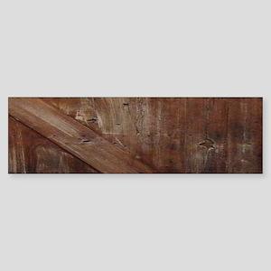primitive farmhouse barn wood Bumper Sticker