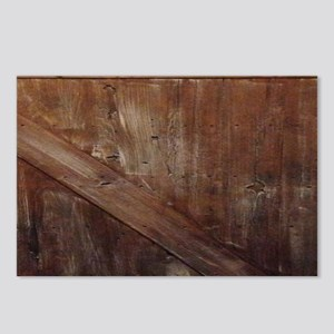 primitive farmhouse barn Postcards (Package of 8)
