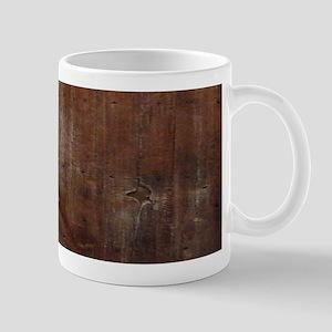 primitive farmhouse barn wood Mugs