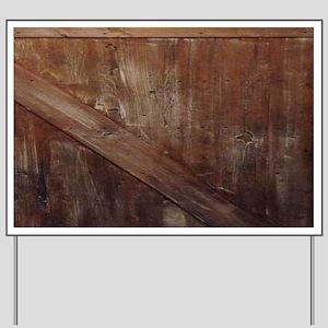 primitive farmhouse barn wood Yard Sign