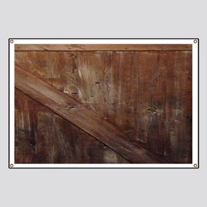 primitive farmhouse barn wood Banner