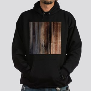 western country barn board Hoodie (dark)