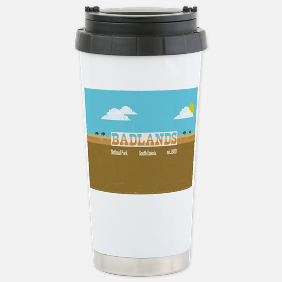 The Badlands National P Stainless Steel Travel Mug