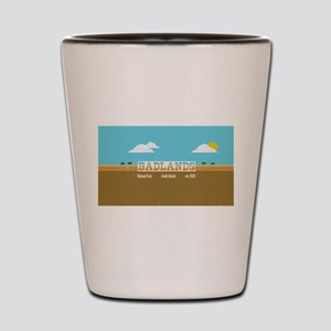 The Badlands National Park Bison Shot Glass