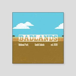 The Badlands National Park Bi Sticker