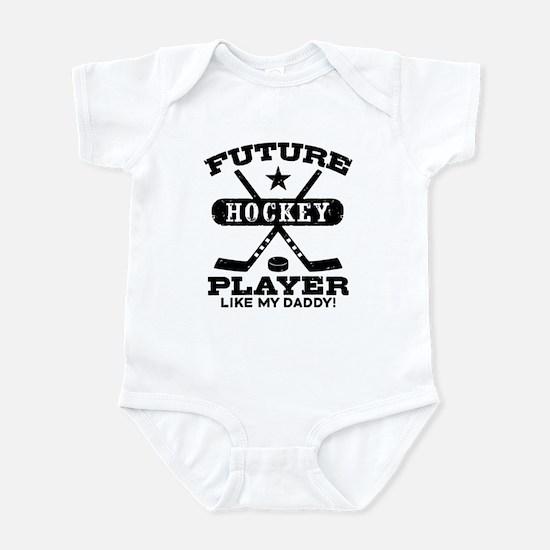 Future Hockey Player Like My D Baby Light Bodysuit