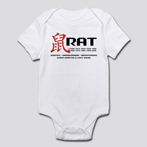 Year of The Rat Infant Bodysuit