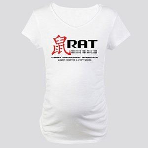Year of The Rat Maternity T-Shirt