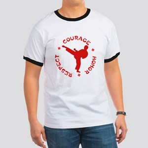 Martial Arts Ringer T