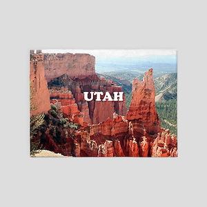 Utah: Bryce Canyon 5 5'x7'Area Rug