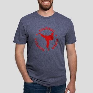 Martial Arts Mens Tri-blend T-Shirt
