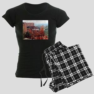 Utah: Bryce Canyon 5 Women's Dark Pajamas