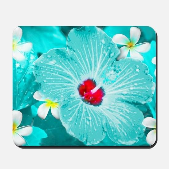 Blue Hawaii Mousepad