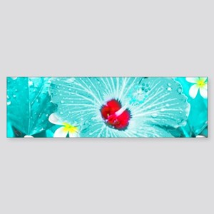 Blue Hawaii Bumper Sticker