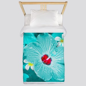 Blue Hawaii Twin Duvet