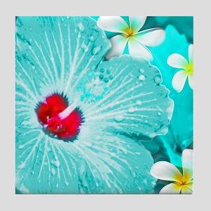 Blue Hawaii Tile Coaster