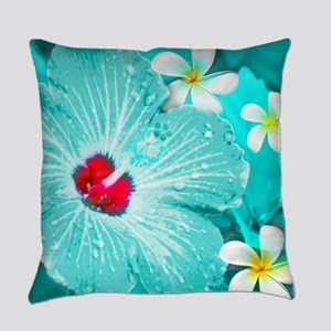 Blue Hawaii Everyday Pillow