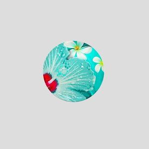 Blue Hawaii Mini Button