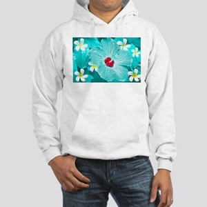Blue Hawaii Hooded Sweatshirt