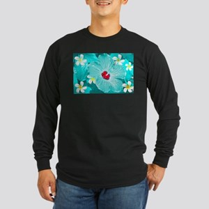 Blue Hawaii Long Sleeve T-Shirt