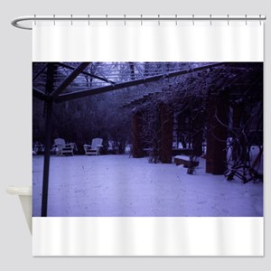 Adirondack Chair Shower Curtains