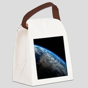 EARTH ORBIT Canvas Lunch Bag