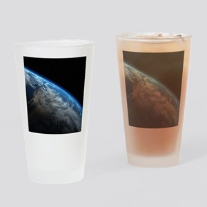 EARTH ORBIT Drinking Glass