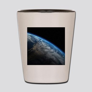 EARTH ORBIT Shot Glass