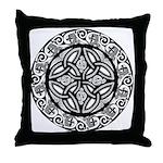 Celtic Shield Throw Pillow
