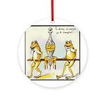 Vintage Frog Ornament (Round)