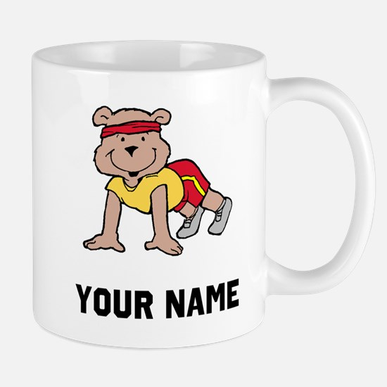 Bear Push Ups Mugs