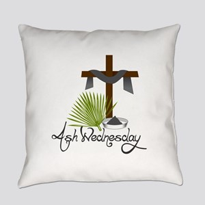 Ash Wednesday Everyday Pillow