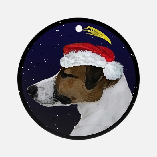 Christmas Night Jack Russell Terrier Ornament