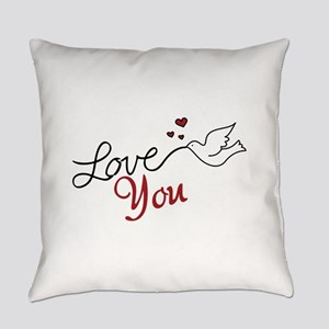 Love You Everyday Pillow