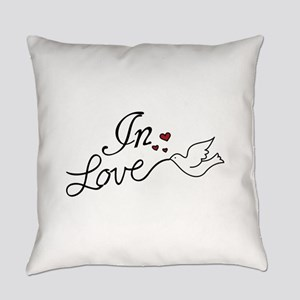 In Love Everyday Pillow