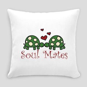 Soul Mates Everyday Pillow