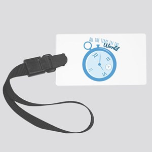 All The Time Luggage Tag