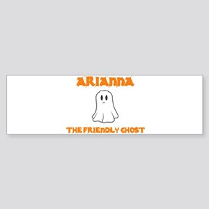 Arianna the Friendly Ghost Bumper Sticker
