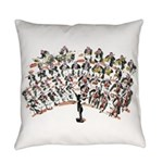 orchestra Everyday Pillow