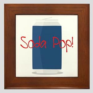 Sopa Pop Framed Tile