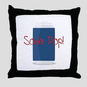 Sopa Pop Throw Pillow