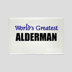 Worlds Greatest ALDERMAN Rectangle Magnet