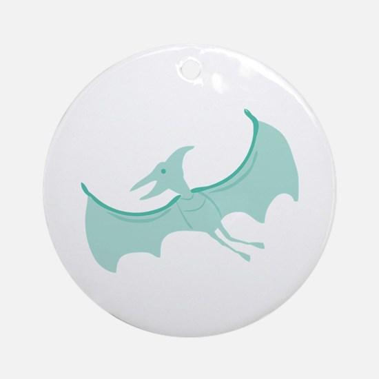 Pterodactyl Round Ornament