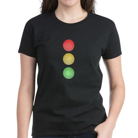 Traffic Light Women's Dark T-Shirt