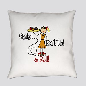 Shake!Rattle! Roll! Everyday Pillow