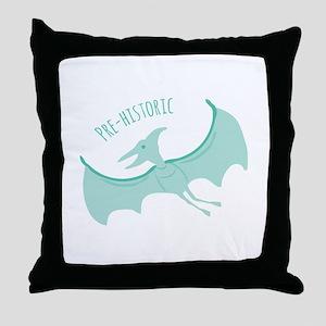Pre-Historic Throw Pillow