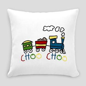 Choo Choo Everyday Pillow