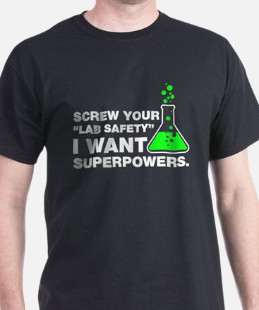 Lab Safety Humor T-Shirt