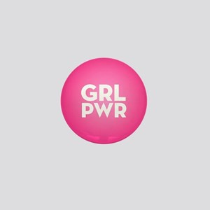 Girl Power Mini Button