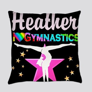 SPARKLING GYMNAST Everyday Pillow